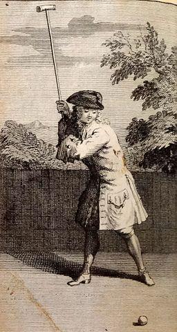 """print from Joseph Lauthier's """"Le Jeu de Mail"""" (1717) – French Jeu de Mail (Medieval Croquet)"""