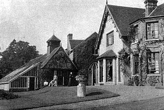 Flitwick Manor - Playing croquet at Flitwick Manor in about 1870