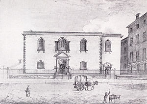 Cross Street Chapel - Cross Street Chapel c.1835
