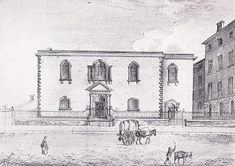 William Gaskell - Cross Street Chapel c. 1835