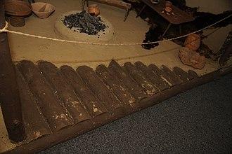 Architecture of the Cucuteni–Trypillia culture - Image: Cucuteni Floor Reconstruction