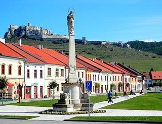 Spišské Podhradie Town in Slovakia