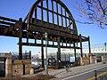 Cunard steel arch pier 54.JPG