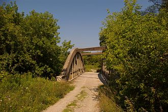 Claireville Conservation Area - Bridge crossing on West Humber River