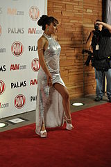 Cytherea at AVN Awards 2011 2.jpg