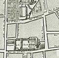 Détail du plan de Bullet et Blondel 1676 - rue Taranne.JPG