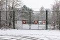Dülmen, Kirchspiel, ehem. Munitionslager Visbeck, Tor -- 2021 -- 4463.jpg
