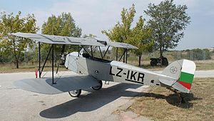 Darzhavna Aeroplanna Rabotilnitsa - Image: DAR1 Plovdiv