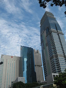 DBS Towers, SIA Building and Capital Tower.JPG