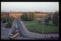 DDR 1980-05. Magdeburg, Bahnhofplatz am frühen Morgen (9358890056).jpg