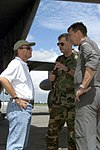 DF-SD-01-01543 Dean Curran and Major General Joe Wehrle and German Colonel Joachim Wundrak 2000.jpeg