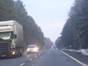 National road 8 (Poland) - Image: DK 8 koło Przyjm