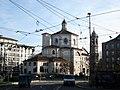 DSC02870 - Milano - Piazza Fontana - Vista di San Bernardino alle ossa - Foto di Giovanni Dall'Orto - 29-1-2007.jpg