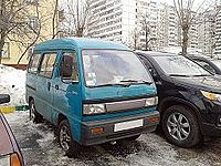 Daewoo Damas (1-st generation) in russian winter (front view).jpg