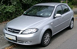 Daewoo Lacetti front 20080709