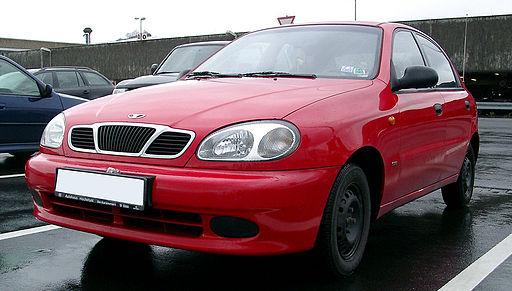 Daewoo Lanos front 20070323