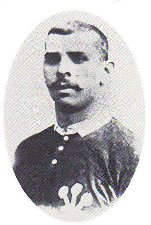 "Welsh League - Dai ""Tarw"" Jones, suspended from rugby union, later becoming a league player with Merthyr"