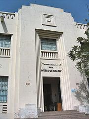 Le musée d'Art africain à Dakar