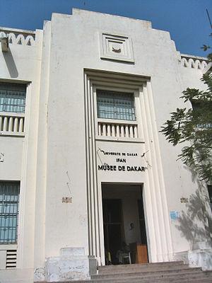 IFAN Museum of African Arts - Image: Dakar Musée