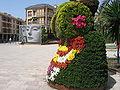 Dama de Elche (flores y vitromosaico).jpg