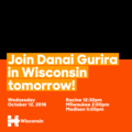 Danai Gurira campaigns for Hillary Clinton in Wisconsin on October 12, 2016.png