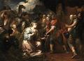 Dandini, Pietro - Solomon and the Queen of Sheba.png