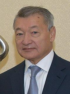 Daniyal Akhmetov Former Prime Minister of Kazakhstan