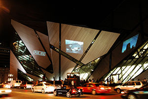 Daniel Libeskind - Libeskind's addition to the Royal Ontario Museum in Toronto (2007).