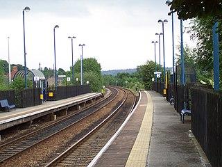Darton railway station Railway station in South Yorkshire, England