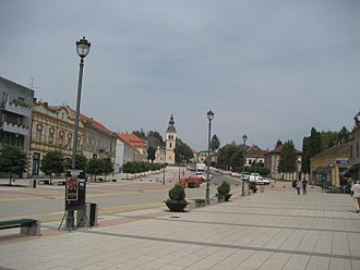 D5 road (Croatia) - Daruvar, on the D5 route