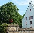 Das eigentliche Deutsche Eck, Deutschherrenhaus mit dem Kreuz des Deutschen Ordens - panoramio.jpg