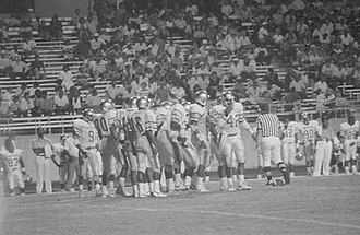 Prairie View A&M Panthers football - Image: Date 1989 9 9 File Number 9445 Assignment Football SWT vs. P A & M (18202599861)