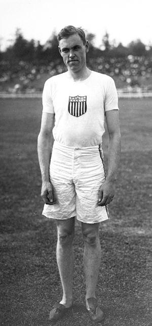 David Caldwell (athlete) - David Caldwell in 1912