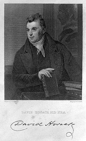 David Hosack - David Hosack in an 1835 engraving of a painting by Thomas Sully