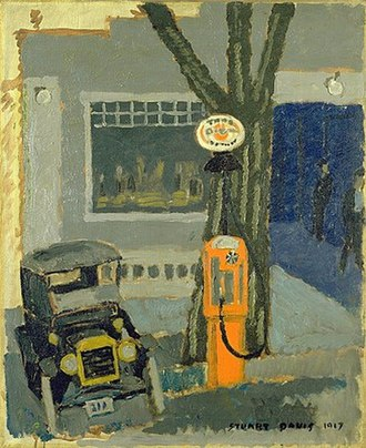 Stuart Davis (painter) - Image: Davis garage no 1