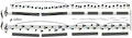 Debussy - Etude VII, mes. 59-60.PNG