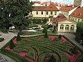 Dekorace druhého parteru a bývalý Alšův ateliér ve Vrtbovské zahradě.JPG