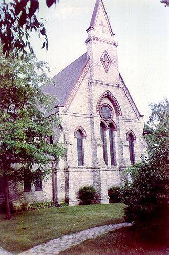 Racine College - St. John's Chapel in 1996