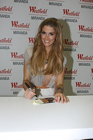 Child of the Universe (album) - Goodrem signing at Miranda Westfield during promotion in Australia