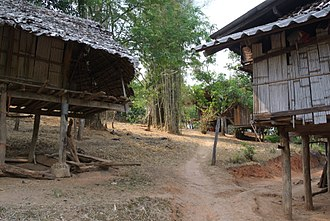 Karen people - Karen village, northern Thailand