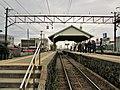 Dentetsu-Kurobe Station platform.jpg