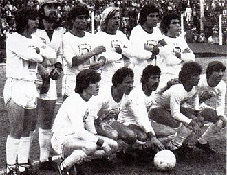 Deportivo Morón - The 1980 team, which achieved the Primera C title that year.