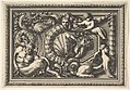 Design for a Panel with Two Variants containing a Satyr and a Sphynx, from- Panneaux d'ornement MET DP829067.jpg