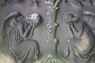 William Fraser (historian) - Detail on Sir Wm Fraser's grave, Dean Cemetery