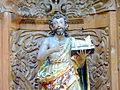 Detalle del Retablo del Templo de San Juan Bautista Amalucan, Puebla (s. XVII) 01.JPG
