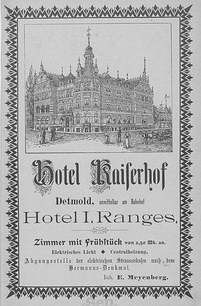 Kaiserhof Detmold