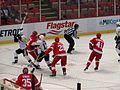 Detroit Red Wings vs. Pittsburgh Penguins, Joe Louis Arena, Detroit, Michigan (21677117786).jpg