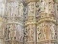 Devi Jagdambi Temple Khajuraho Outer Wall 10.JPG