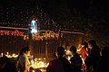 Devotees light candle and pray at the Sacred Heart Cathedral, on the eve of Christmas, in New Delhi on December 24, 2007.jpg