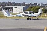 Diamond Star DA-40 (VH-RFN) taxiing at Wagga Wagga Airport.jpg